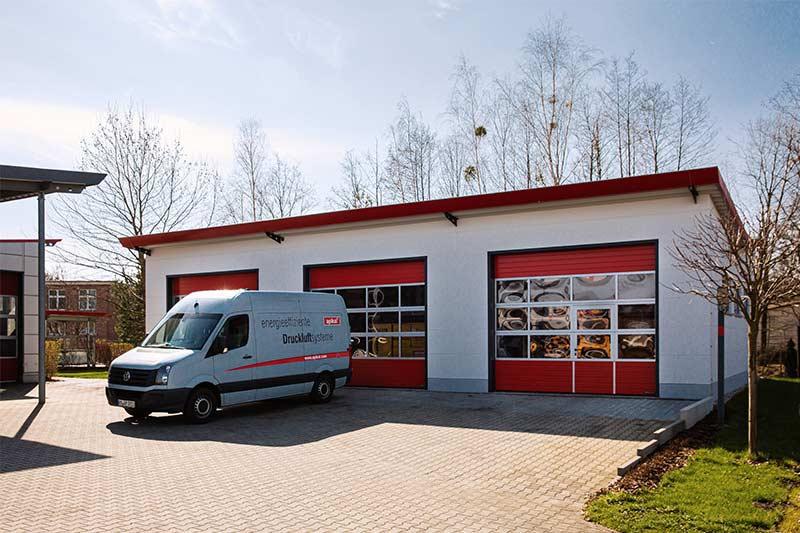Logistikzentrum für Miettechnik eingeweiht