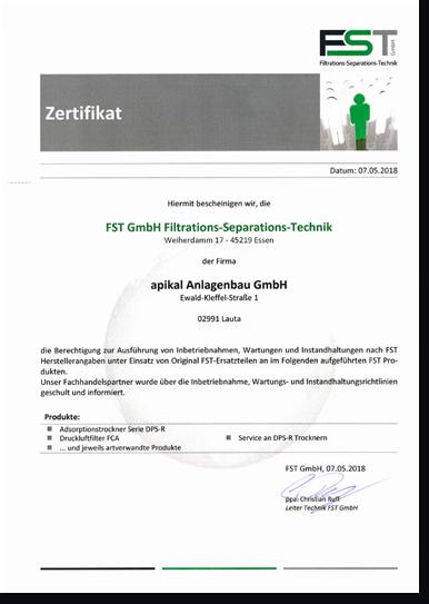 Filtrations-Separations-Technik Image