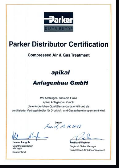 Parker Distributor Image