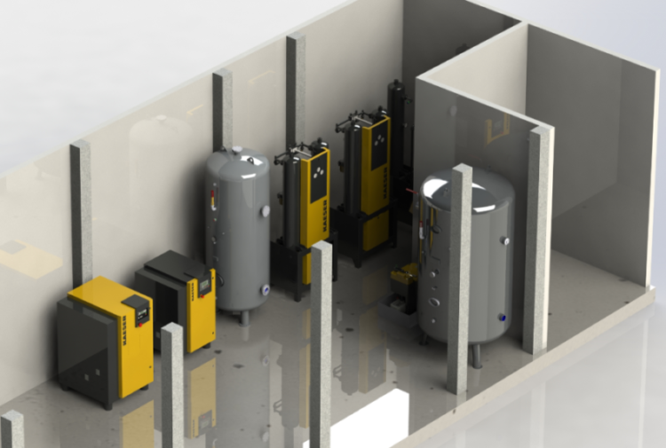 Druckluft-Systembau